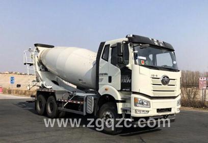 程力集团解放混凝土搅拌运输车(国六)