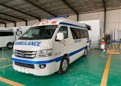 为支援随州医疗机构用车程力集团复工上线全力生产救护车