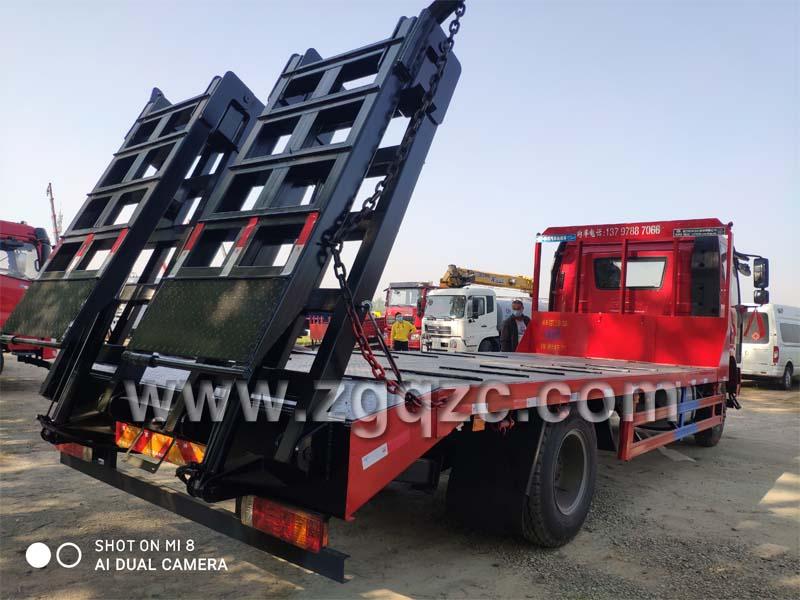 程力集团解放J6平板运输车