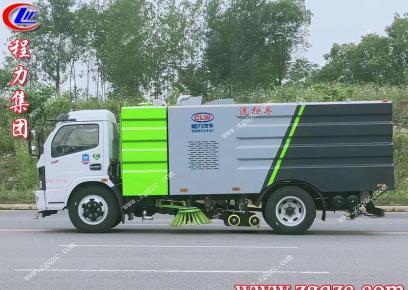 湖北程力集团国六东风凯普特洗扫车发往深圳福田